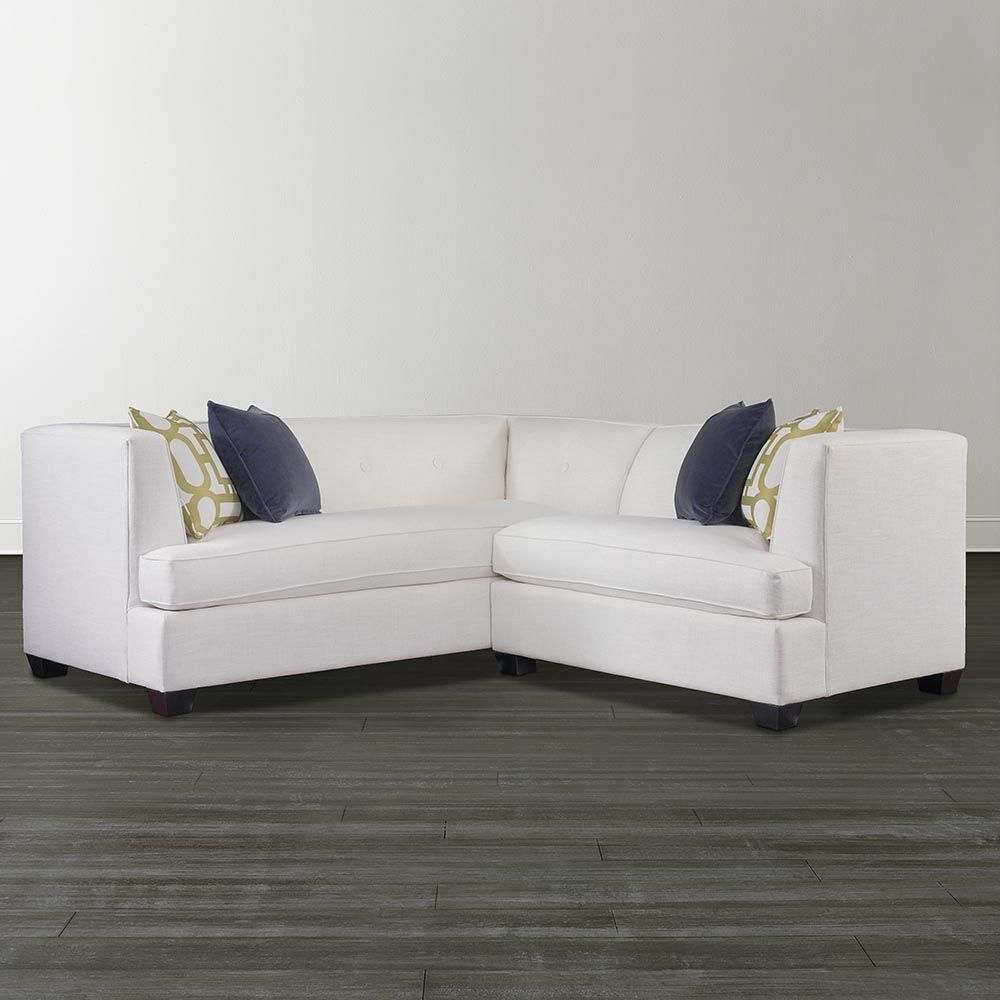 Captivating Kennedy L Shaped Sectional   This May Be The One. No Pillow Backs And