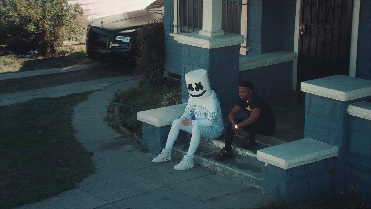 Marshmello showcases new direction in new Roddy Ricch collaboration