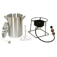 Special Offers - King Kooker 1268 26-Quart Outdoor Propane Turkey Fryer with Timer (Discontinued by Manufacturer) - In stock & Free Shipping. You can save more money! Check It (April 13 2016 at 05:36AM) >> http://outdoorgrillsusa.net/king-kooker-1268-26-quart-outdoor-propane-turkey-fryer-with-timer-discontinued-by-manufacturer/