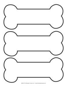 plantillas de huesos para imprimir