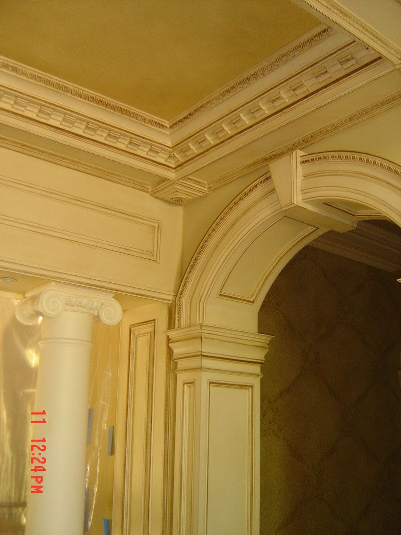 top molding trim molding | Entriesl/Halls | Pinterest | Moldings ...