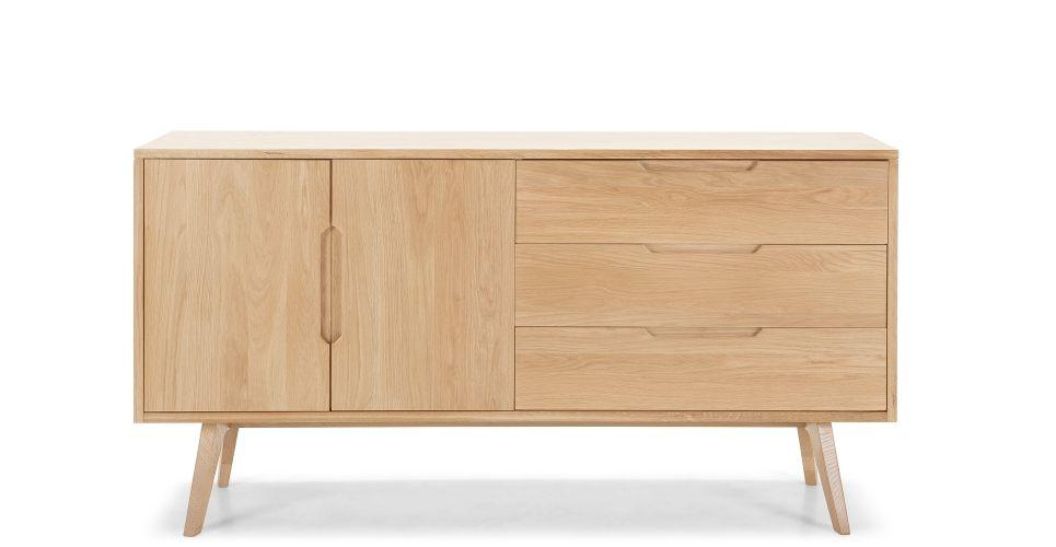 Jenson Sideboard, Solid Oak   made.com  £600