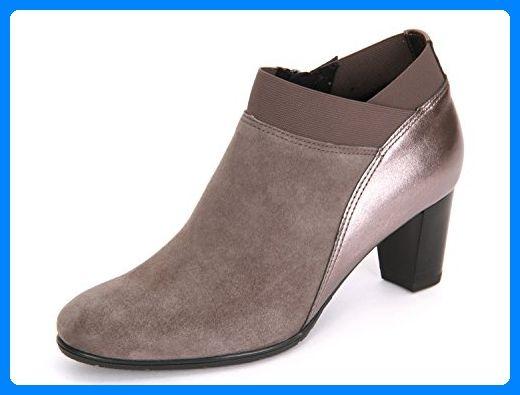 ara 12 43442G Damen Stiefelette Grau, EU 37 Stiefel für