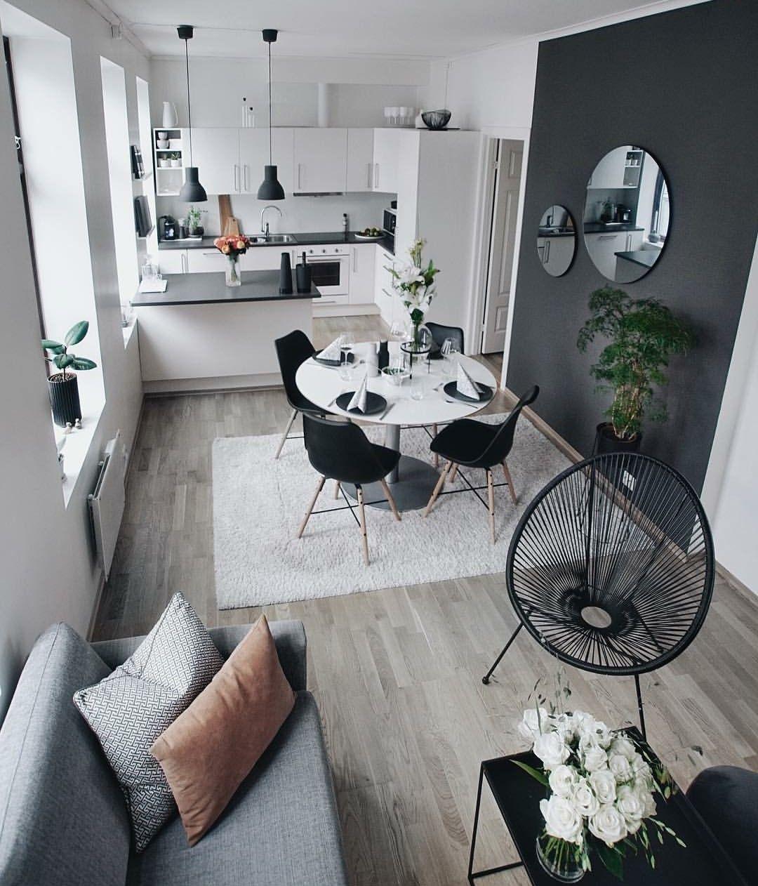 Esszimmer dekor wohnung super cute small area living  toll  pinterest  haus wohnzimmer
