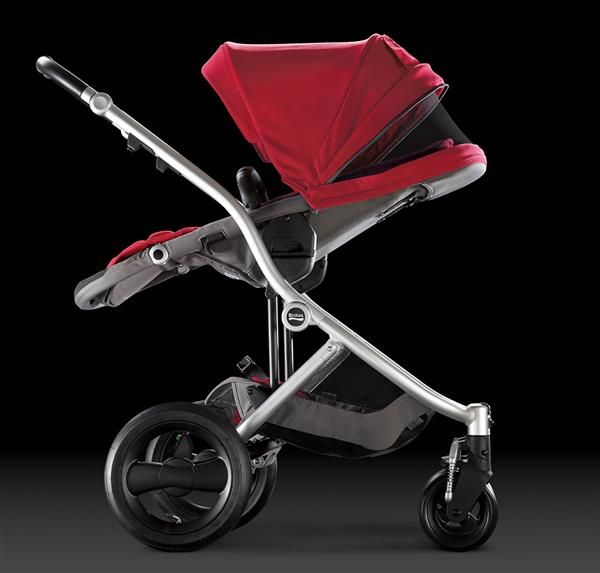 Affinity Stroller By Britax Reversible Seat With Four