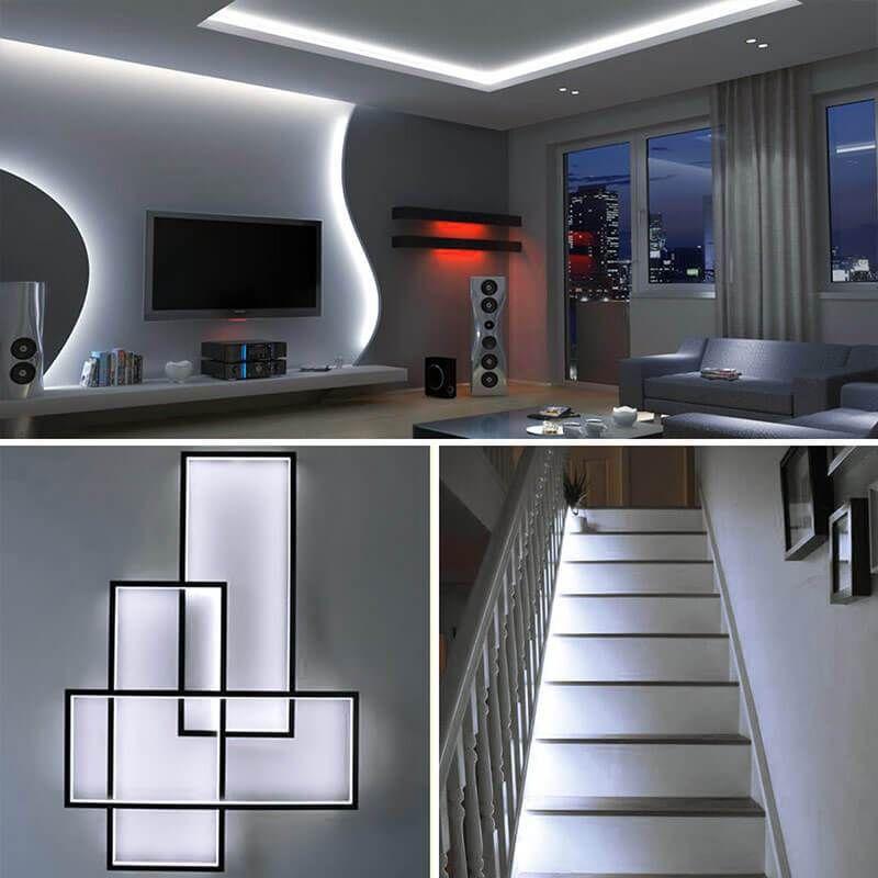 Led Strip Lights Kit Dimmable 5m 300 Leds Under Cabinet Lighting