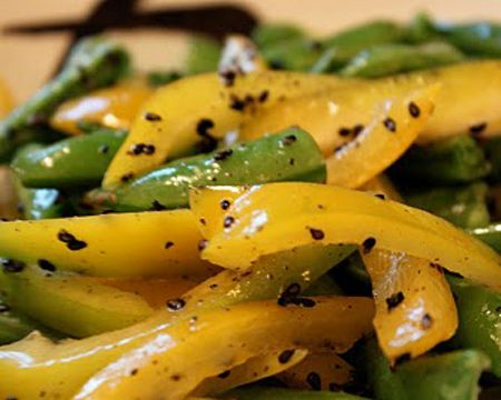 Bell Pepper and Snap Pea Salad Recipe