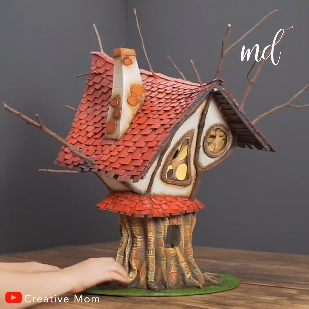 DIY FAIRY TREEHOUSE