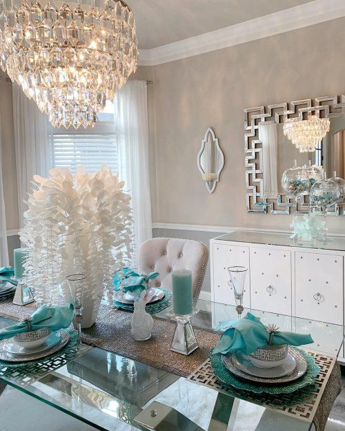 16 Absolutely Gorgeous Mediterranean Dining Room Designs: Beautiful Dining Room Decor