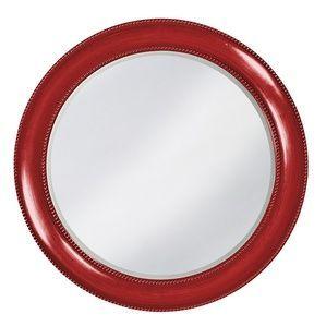 Howard Elliott Saturn Glossy Red Mirror
