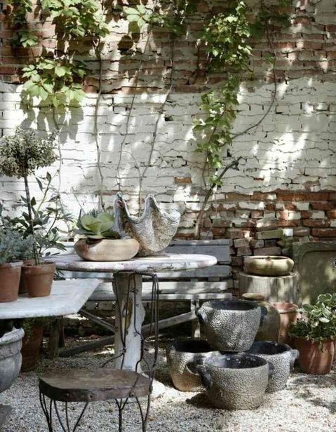 15 idées pour pimper le mur de sa terrasse Pinterest