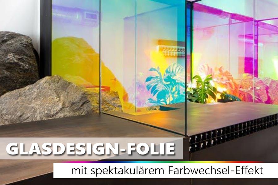 Transparente Regenbogenfolie Mit Spektakularem Farbwechseleffekt In 2020 Fenster Klebefolie Fensterfolie Glasscheiben