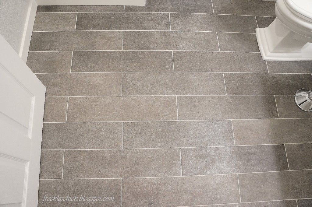 Bathroom Fancy Gray Tile Design Idea With White Closet Seat