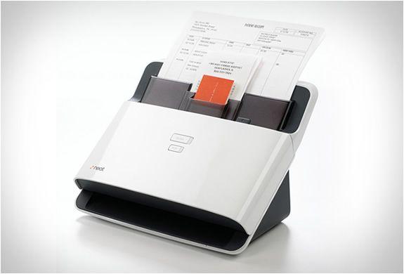 Neatdesk Desktop Scanner Digital Filing System Scanner Design Case