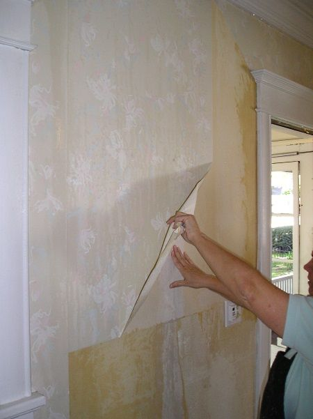 How To Remove Vinyl Wallpaper The Practical House Painting Guide Vinyl Wallpaper Removable Wallpaper Wallpaper Removal Solution