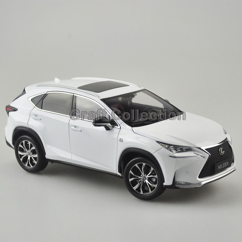 White 1 18 Scale Lexus Nx200t Nx Suv Luxury Collection Cast Model Car Aluminum Several Colors Nx200