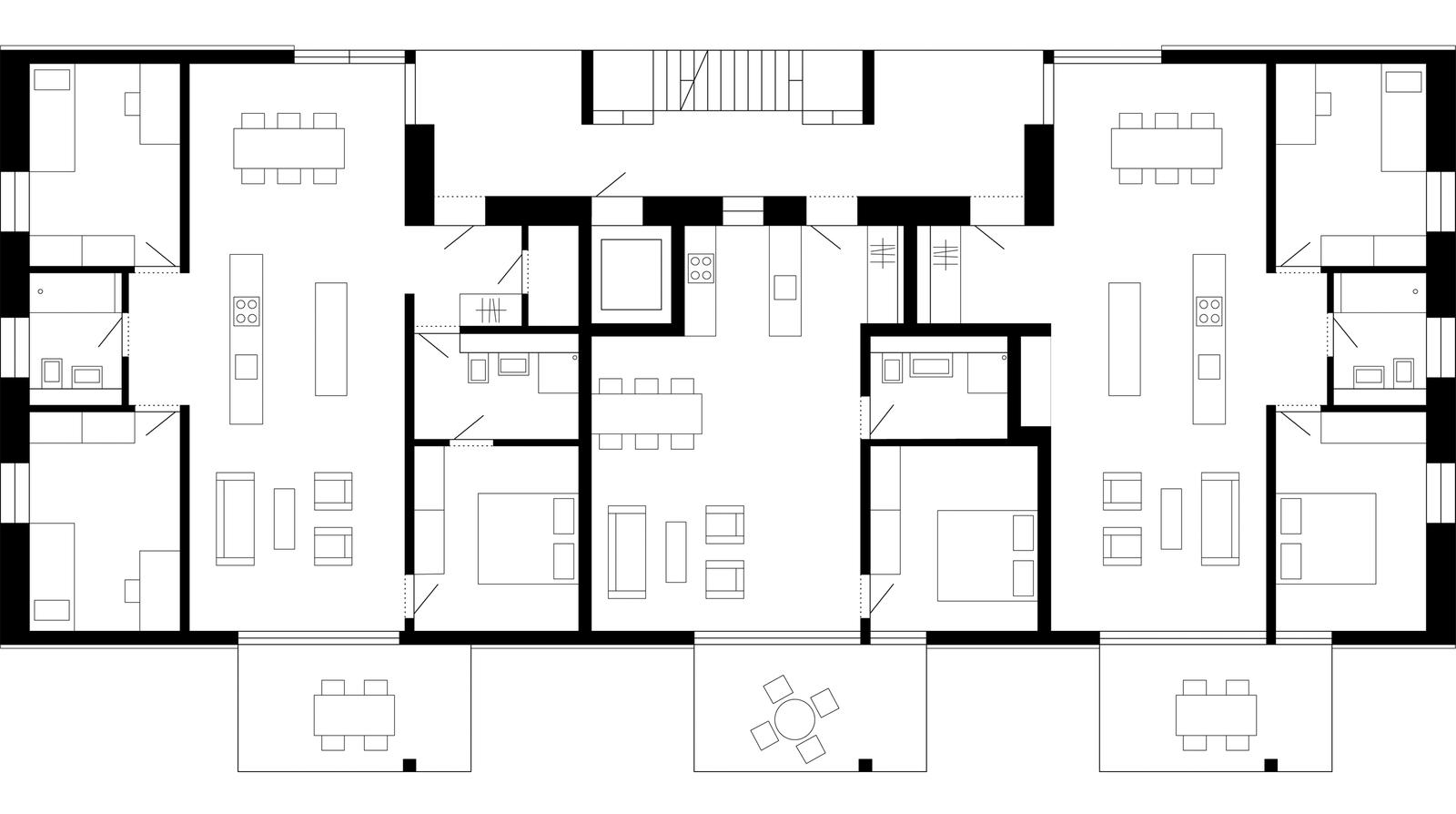 mlzd met siedlung narzissenweg biel obergeschoss kab pinterest grundrisse architektur und. Black Bedroom Furniture Sets. Home Design Ideas