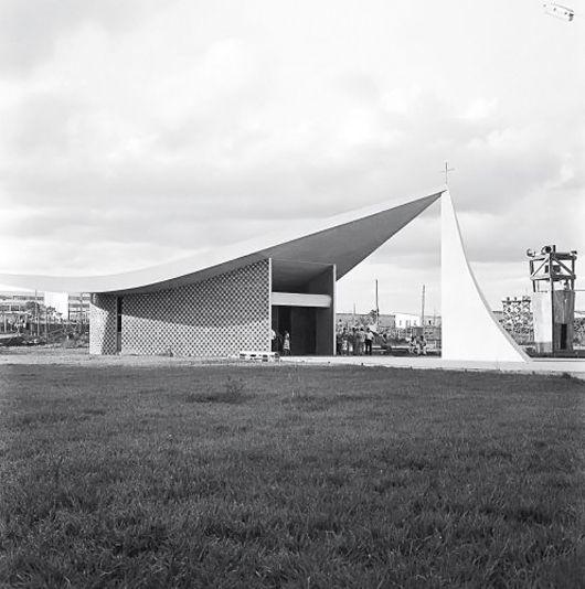 Galeria - Clássicos da Arquitetura: Igrejinha Nossa Senhora de Fátima / Oscar Niemeyer - 6