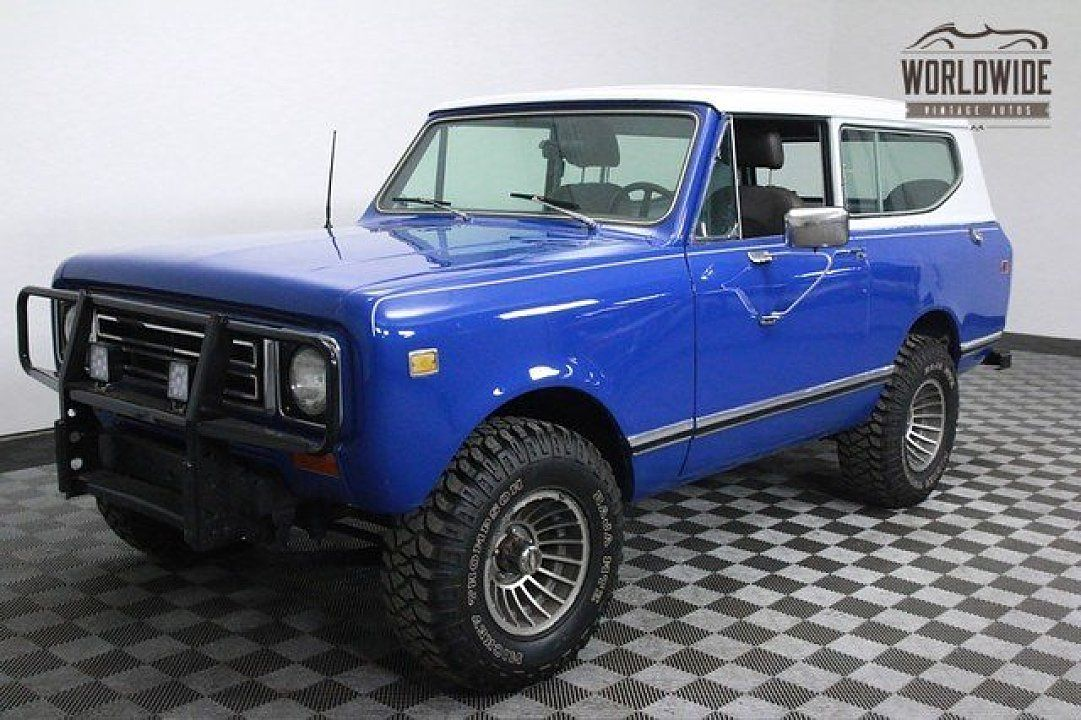 1977 International Harvester Scout for sale near Denver, Colorado ...