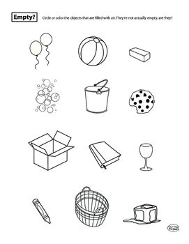 Air Is Matter Science Worksheets Telling Time Practice