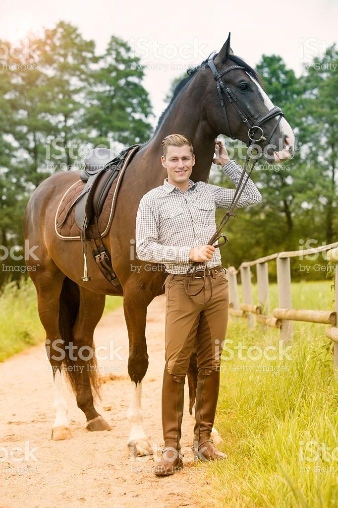 Man Horse Meme Beach