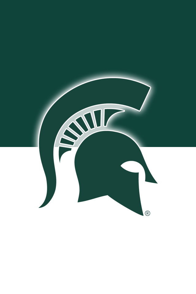 Get A Set Of 12 Officially Ncaa Licensed Michigan State Spartans Iphone Wallpapers Sized Precisely For Any Mode Michigan State Spartans Michigan State Michigan