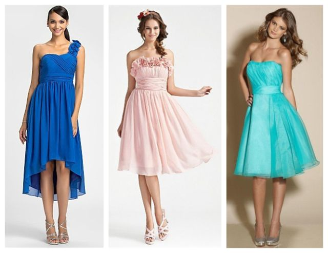 Women Formal Bridesmaid Long//Short Evening Party Prom Cocktail Wedding Dress Lot