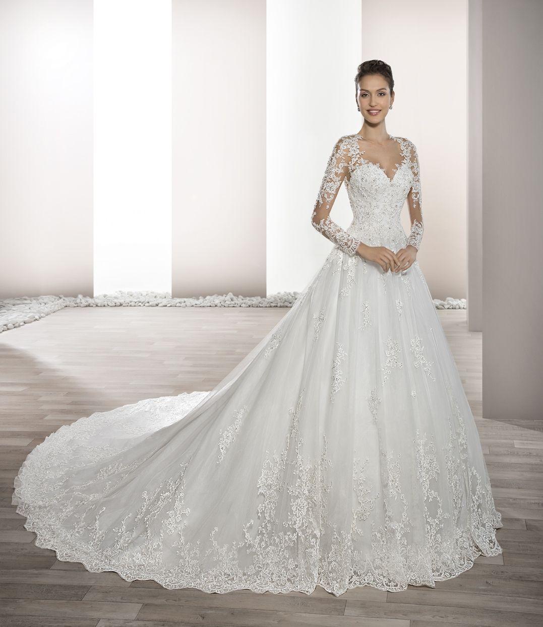 Vestido de Novia de Demetrios - 732 | Wedding dresses | Pinterest ...
