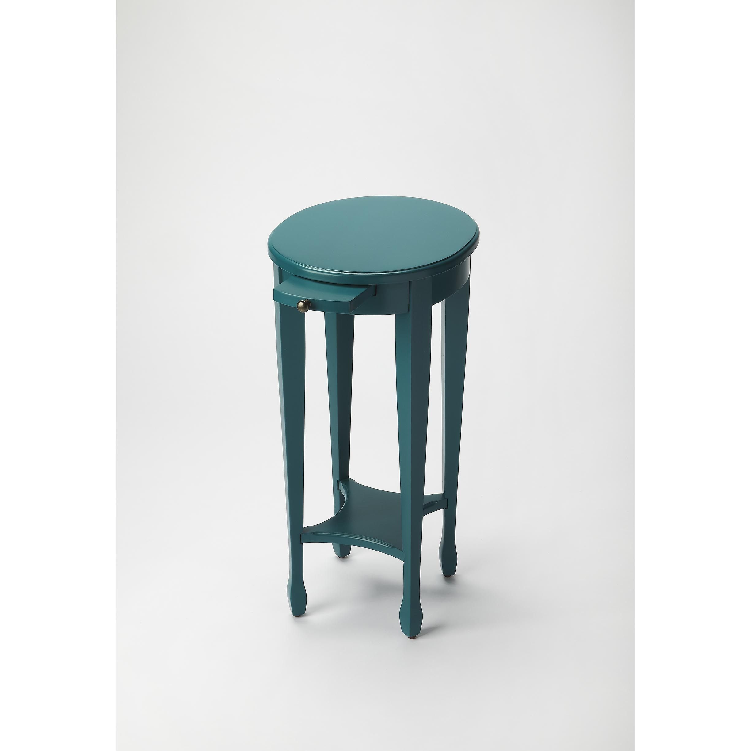Butler Arielle Finish Wood and Round Accent Table