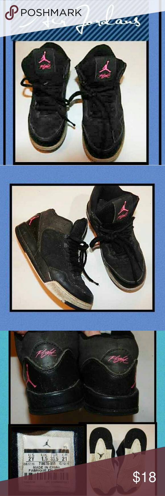Air Jordan Flights Shoes!! Size 2 Youth