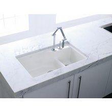 Kohler K 6411 3 With Images Cast Iron Kitchen Sinks Kitchen