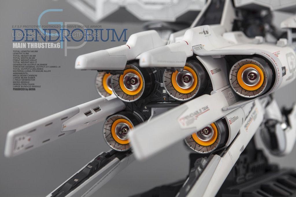 HG 1/144 RX78GP03 Gundam DENDROBIUM Latest Work by