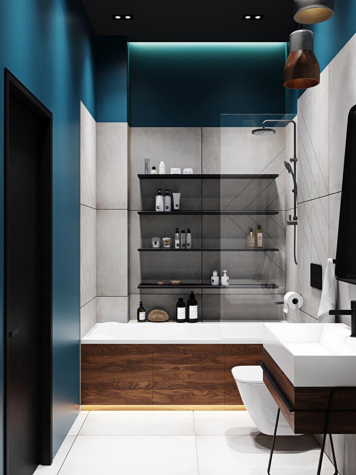 Peinture Pour Wc Ceramique peinture de salle de bain alkyde fini très lustré, plancher
