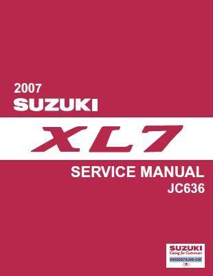 suzuki grand vitara 2007 service repair manual