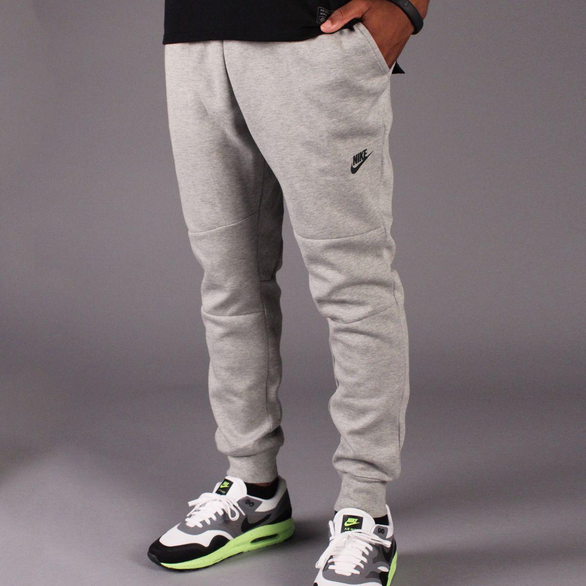 Nike Tech Fleece Pant 1MM (Dark Heather Grey/Black