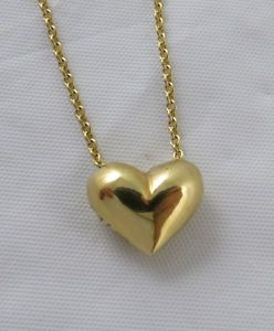 Tiffany puffed heart necklace details about tiffany co 18k tiffany puffed heart necklace details about tiffany co 18k yellow gold puffed heart necklace aloadofball Gallery