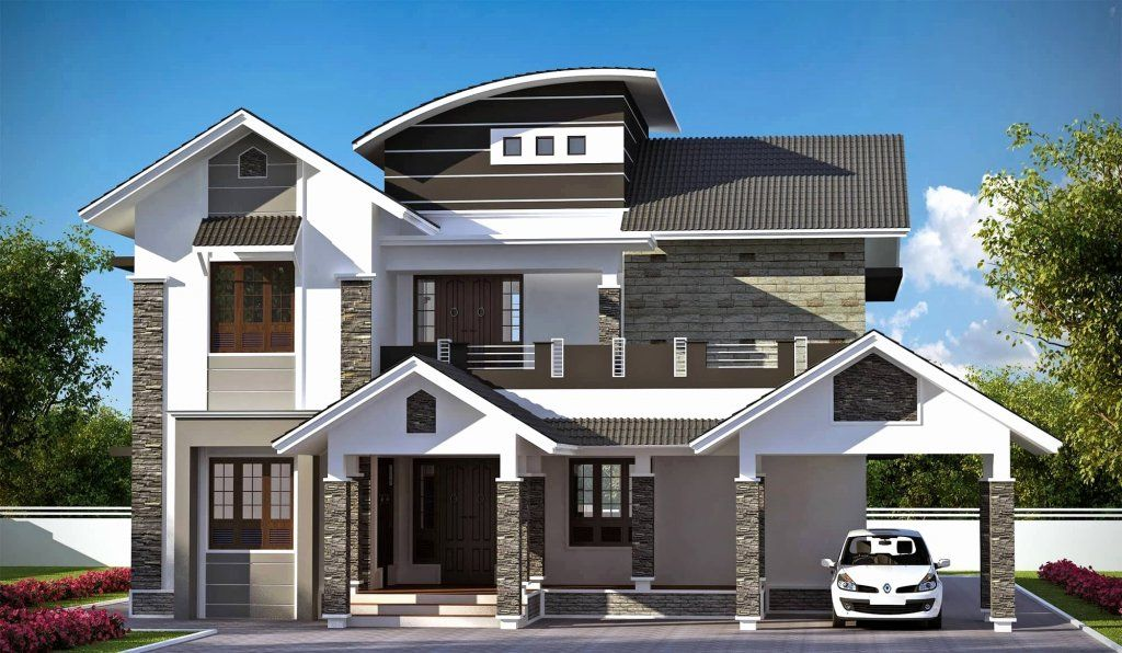 Top 40 Most Beautiful Houses 2019 Engineering Discoveries Kerala House Design Modern Style House Plans Dream Home Design