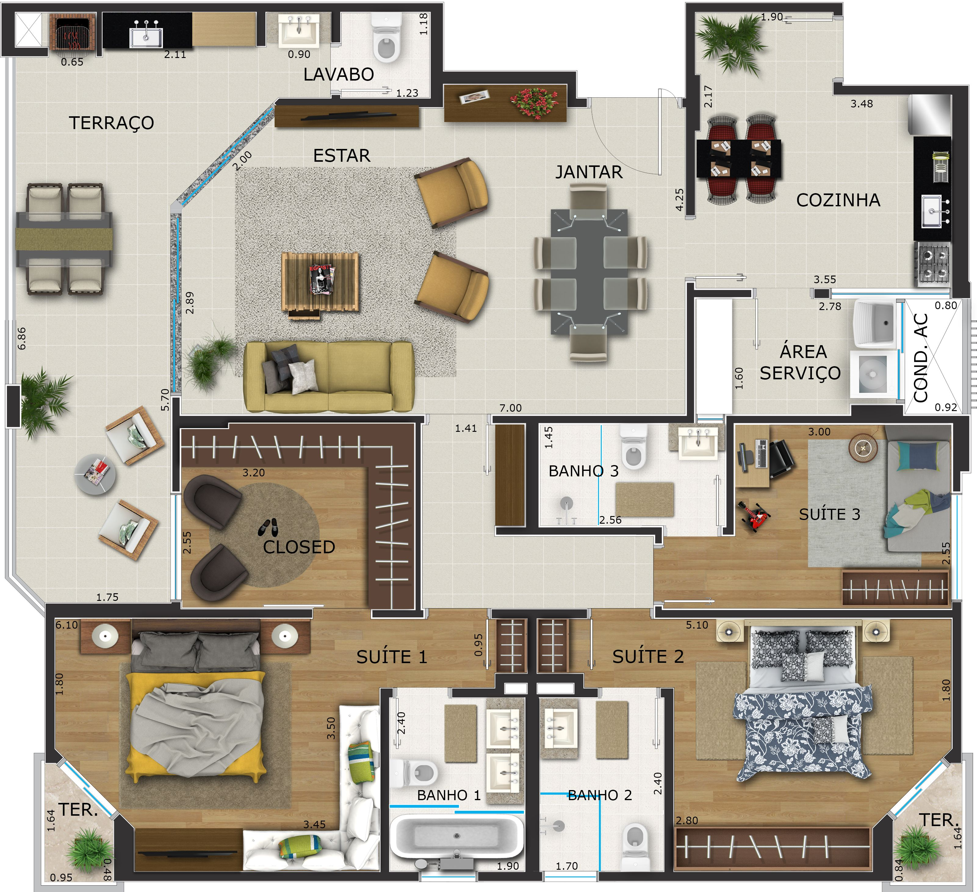 Superb Dream House Plans