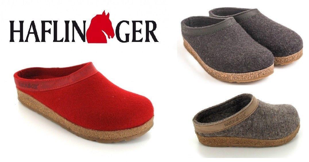 f46ace686965 59.99 ❤ HAFLINGER Best Clog Grizzly Torben Unisex Wool Felt Cork Footbed All  Size 713001