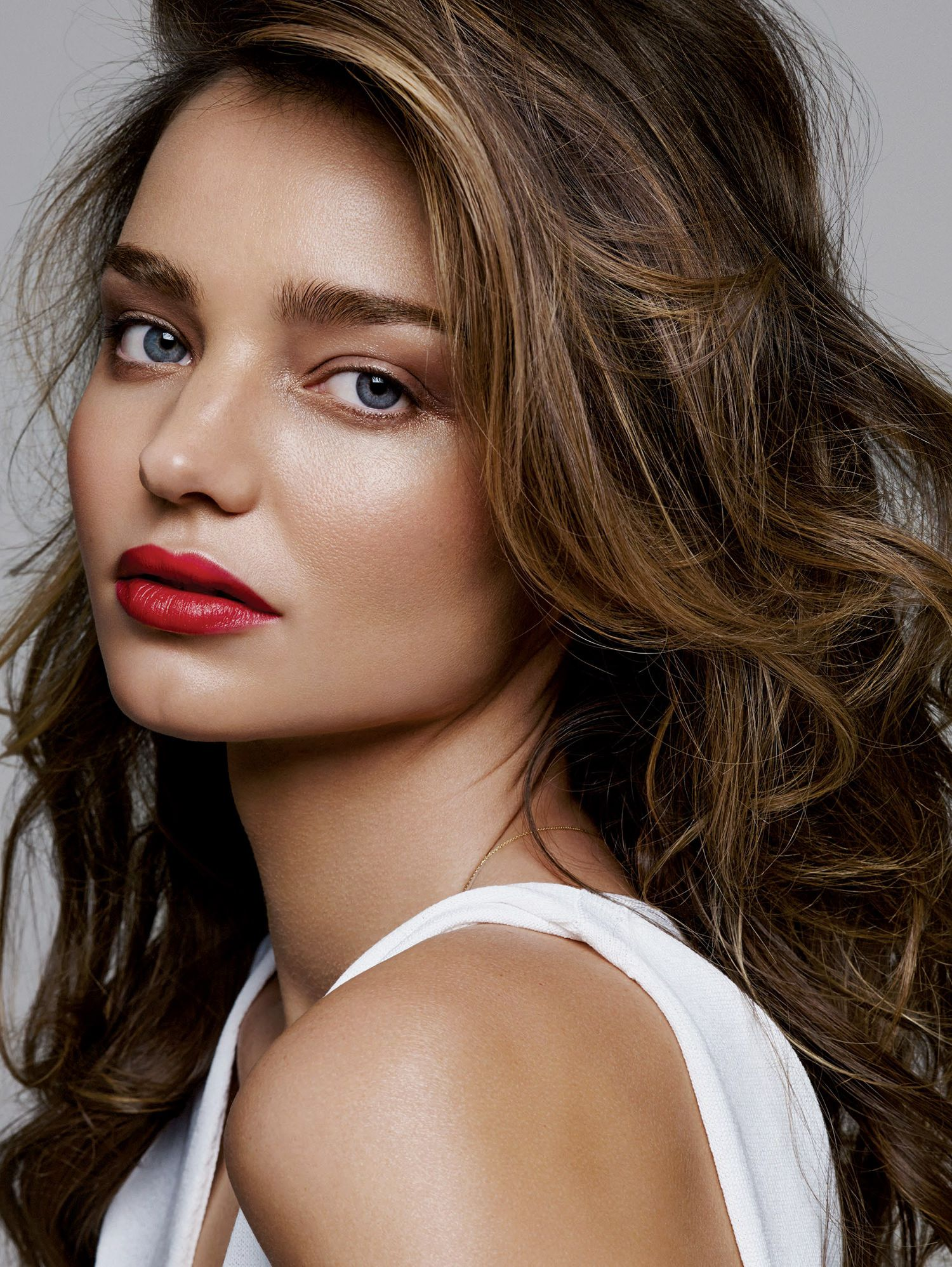 Miranda Kerr by Alique for Glamour February 2015