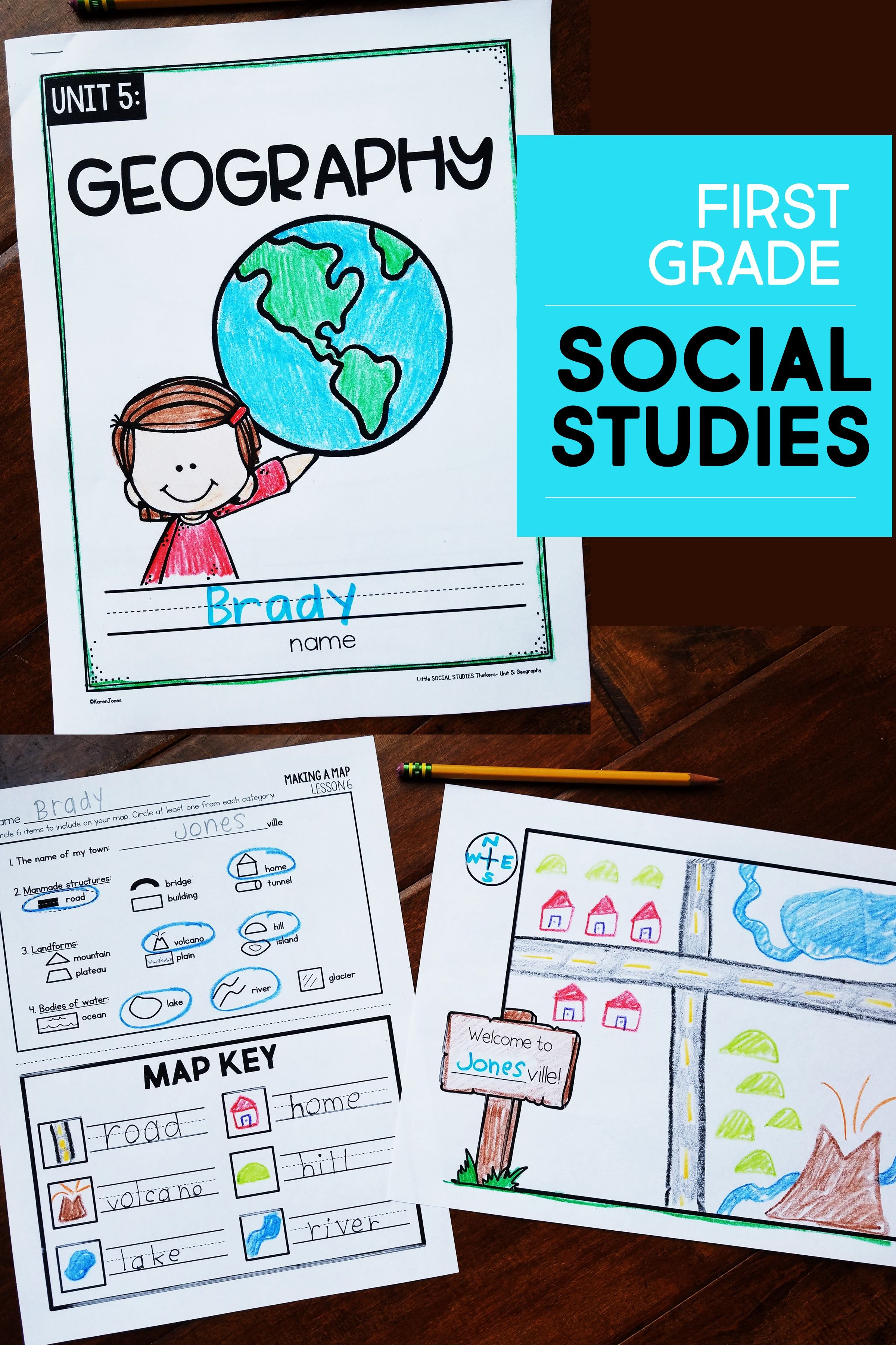 First Grade Social Stu S With Images