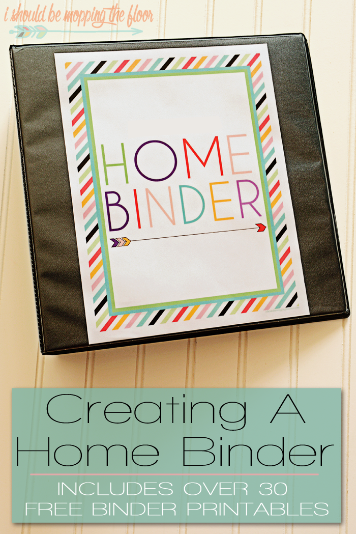 how to create a home binder bloggers best home tips and tricks