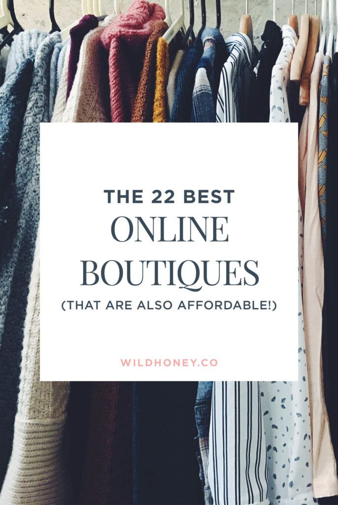 13 Best Affordable Online Boutiques for Womens Clothes to