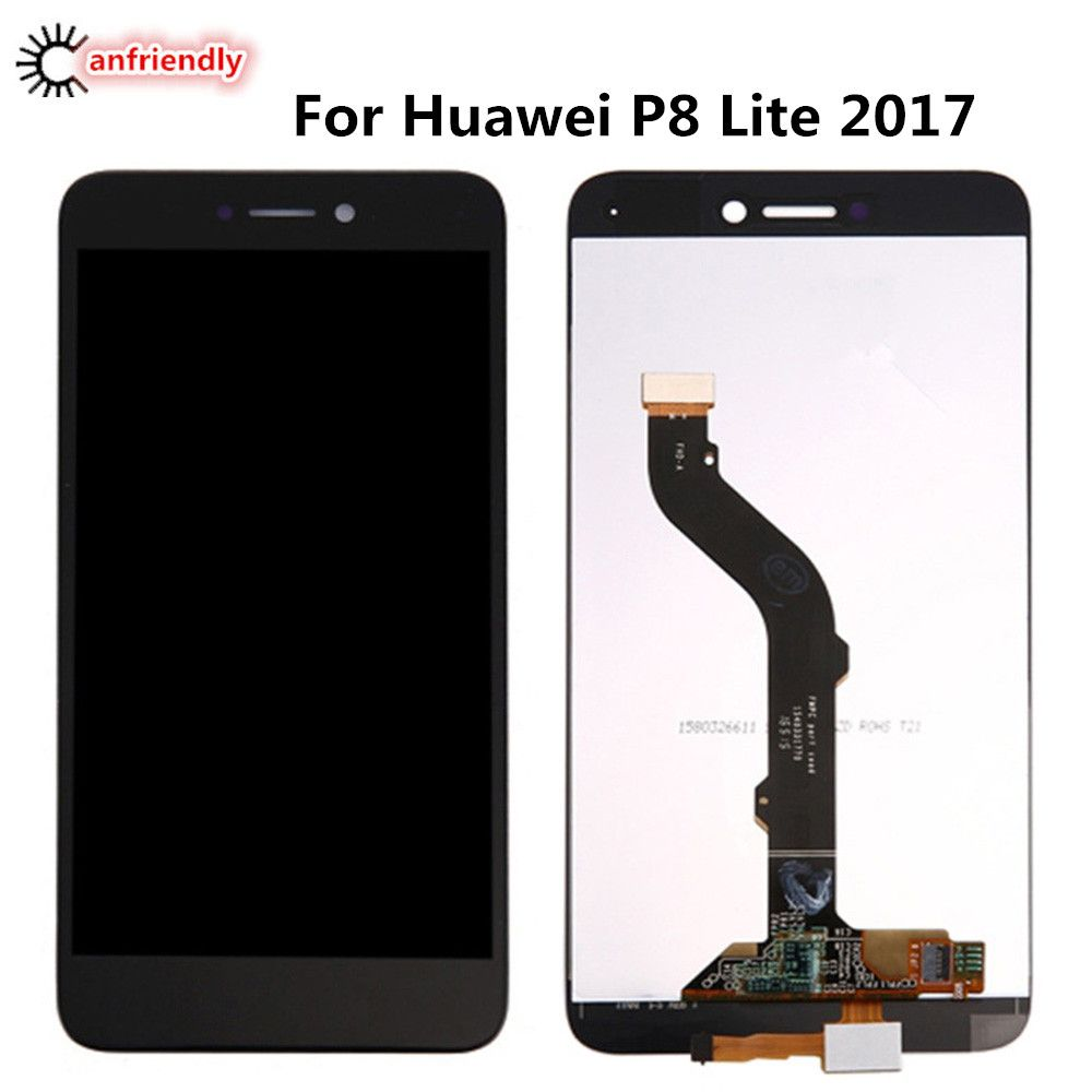 For Huawei P8 Lite 2017 Lcd Display Touch Screen Digitizer Assembly Replacement Glass Panel For Huawei P 8 Lite 2017 Lcds Repair