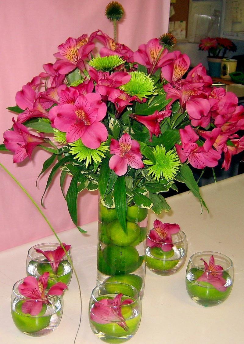 center piece idea wedding ideas pinterest bouquet deco floral et fleurs. Black Bedroom Furniture Sets. Home Design Ideas