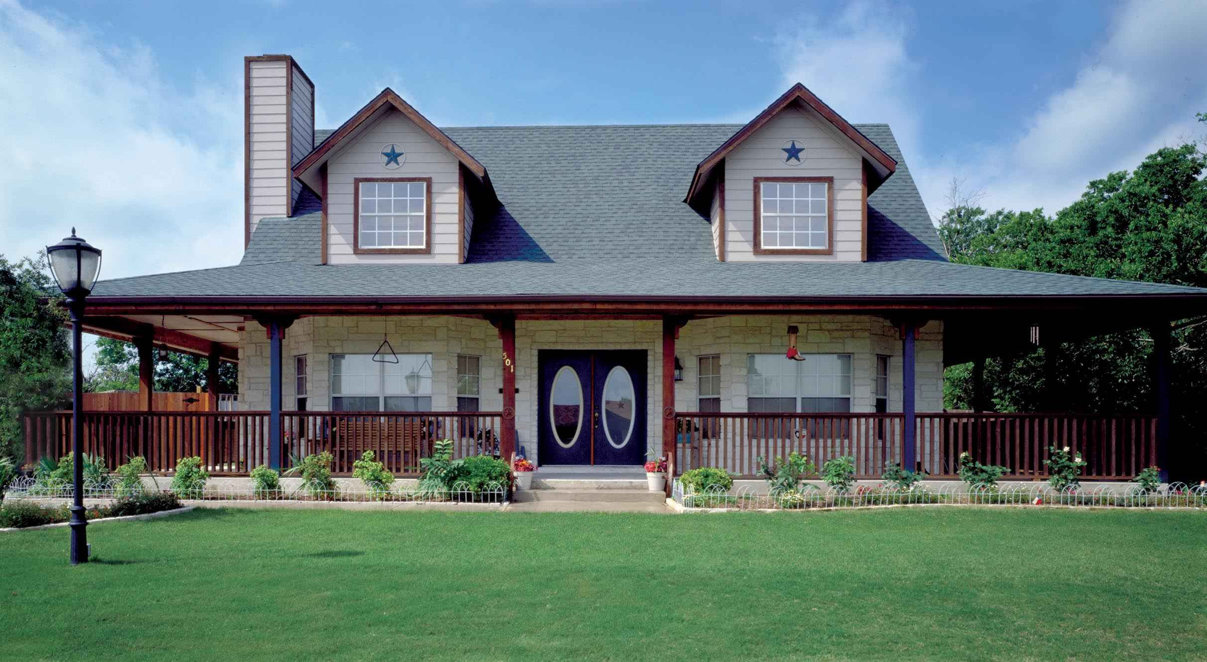 Eplans Country House Plan Timeless Country Home with Wraparound