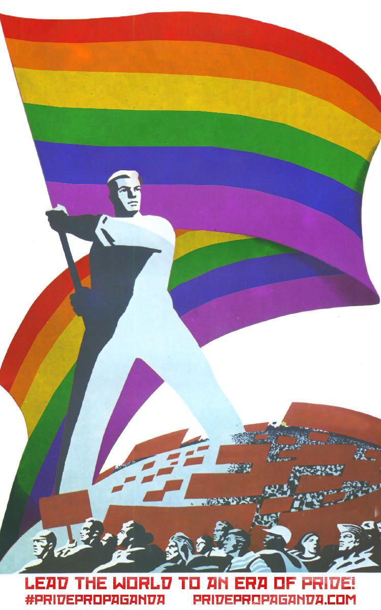 9   Soviet Propaganda Becomes Fabulous Gay Pride Posters   Co.Design   business + design