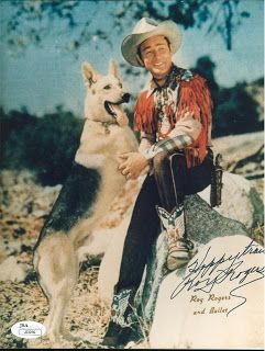 Dear Abby - Famous TV Dogs: Bullet the Wonder Dog from The Roy Rogers Show #hollywoodactor