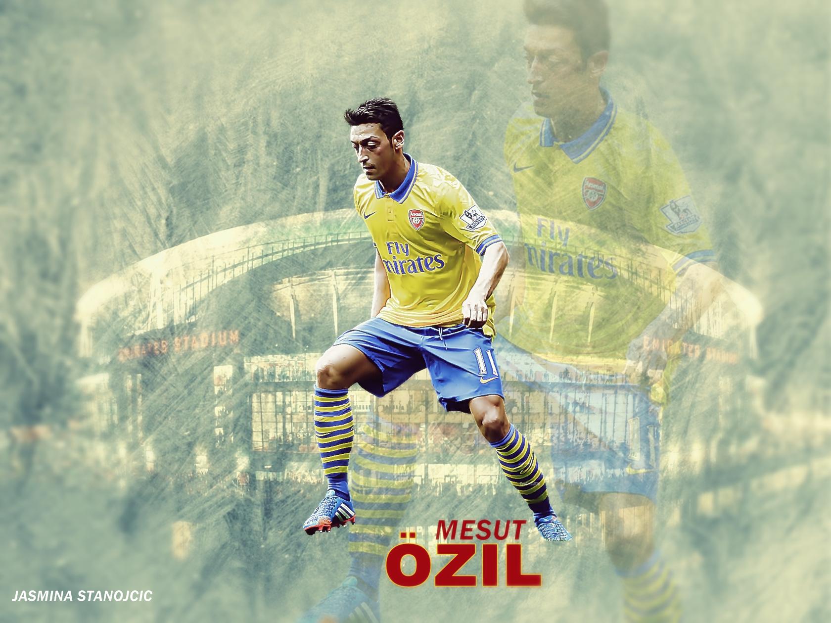 Mesut Ozil By Mimi15vidic.deviantart.com On @deviantART
