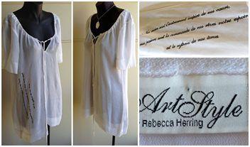 """ART STYLE by Rebecca Herring """"LOVEthisSTORY DRESS"""""""